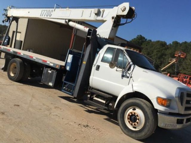2008 Ford F750 MANITEX 1770C .17 TON CRANE..120FT REACH.. - 17431961 - 1