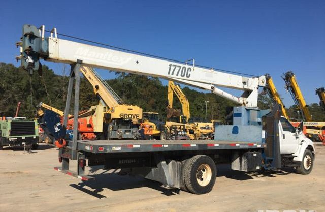 2008 Ford F750 MANITEX 1770C .17 TON CRANE..120FT REACH.. - 17431961 - 2