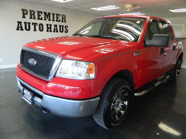 2008 Ford F-150 2008 FORD F-150 CREW CAB 4 DOOR 4X4