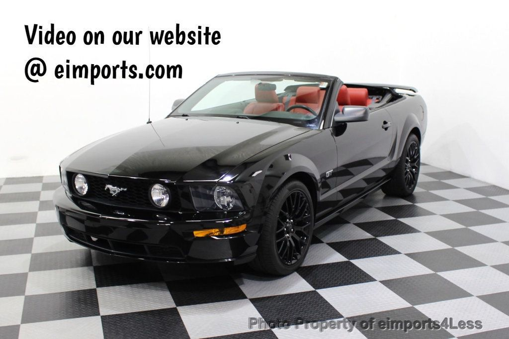 2008 Ford Mustang CERTIFIED MUSTANG GT 5 SPEED MANUAL TRANS - 18006915 - 0