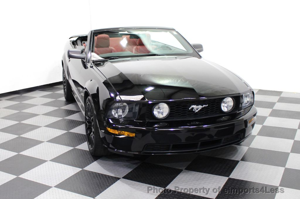 2008 Ford Mustang CERTIFIED MUSTANG GT 5 SPEED MANUAL TRANS - 18006915 - 27