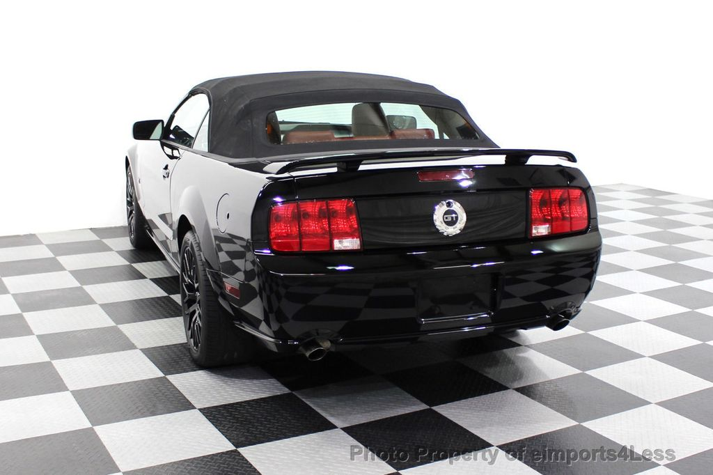 2008 Ford Mustang CERTIFIED MUSTANG GT 5 SPEED MANUAL TRANS - 18006915 - 28