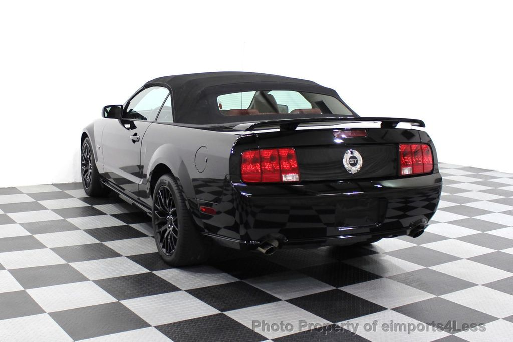 2008 Ford Mustang CERTIFIED MUSTANG GT 5 SPEED MANUAL TRANS - 18006915 - 2