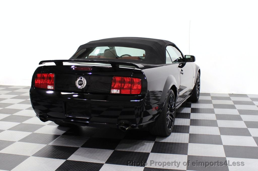 2008 Ford Mustang CERTIFIED MUSTANG GT 5 SPEED MANUAL TRANS - 18006915 - 30