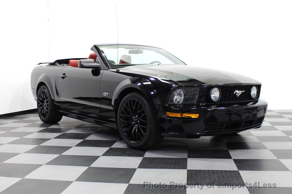 2008 Ford Mustang CERTIFIED MUSTANG GT 5 SPEED MANUAL TRANS - 18006915 - 44