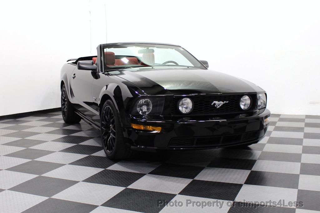 2008 Ford Mustang CERTIFIED MUSTANG GT 5 SPEED MANUAL TRANS - 18006915 - 53