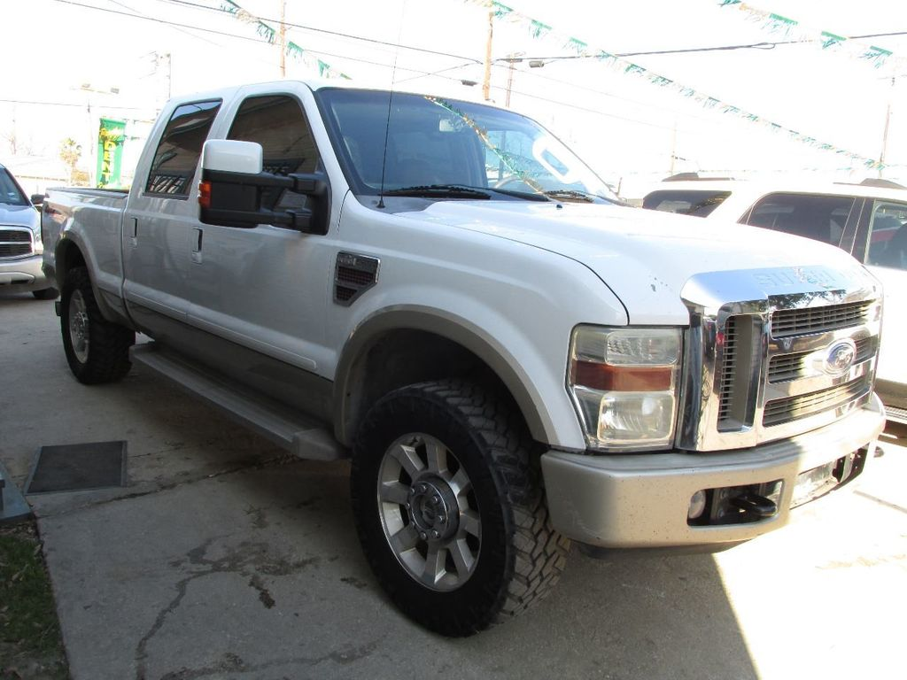 2008 used ford super duty f 250 srw 2wd crew cab 156 king. Black Bedroom Furniture Sets. Home Design Ideas