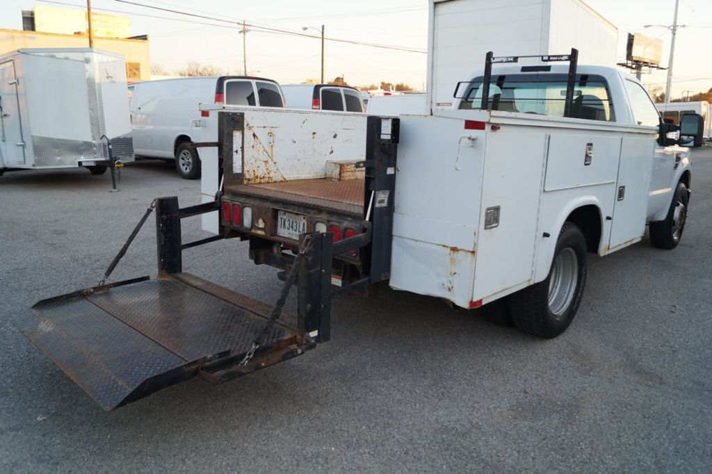 2008 Ford Super Duty F-350 DRW Cab-Chassis 2008 FORD F350 SUPER DUTY 6.4L DIESEL TOOLBOX 1-OWN 615-678-7444 - 18156711 - 11