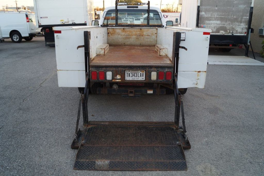 2008 Ford Super Duty F-350 DRW Cab-Chassis 2008 FORD F350 SUPER DUTY 6.4L DIESEL TOOLBOX 1-OWN 615-678-7444 - 18156711 - 12
