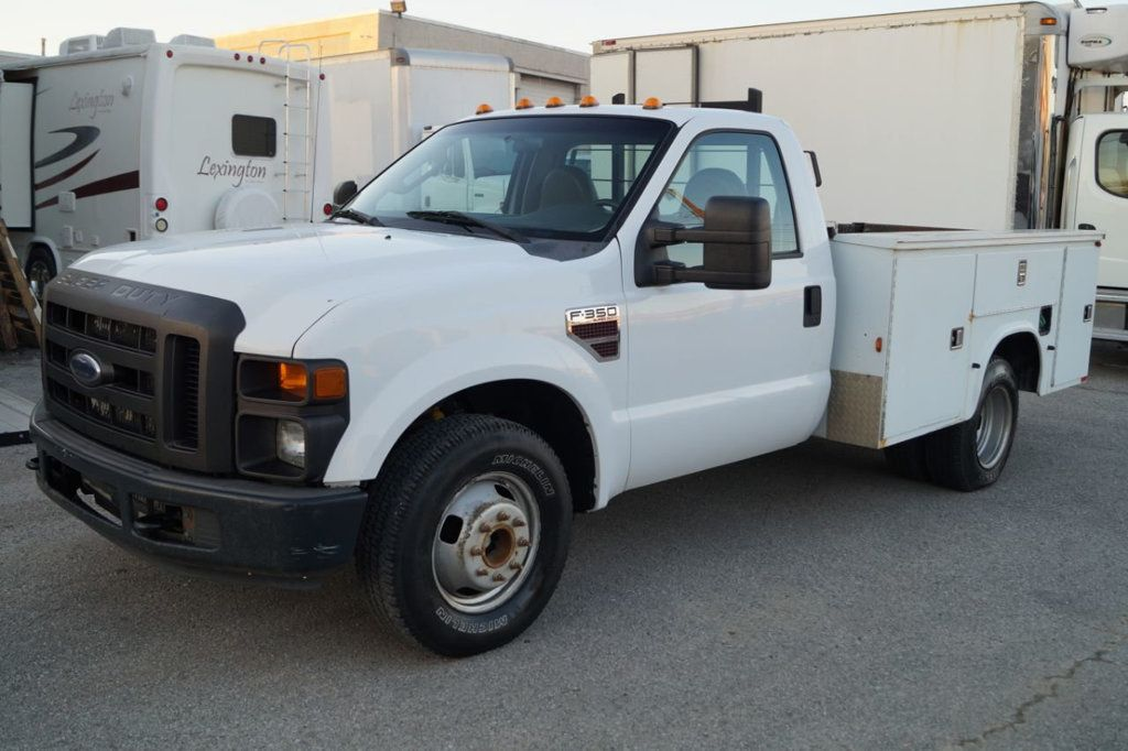 2008 Ford Super Duty F-350 DRW Cab-Chassis 2008 FORD F350 SUPER DUTY 6.4L DIESEL TOOLBOX 1-OWN 615-678-7444 - 18156711 - 2