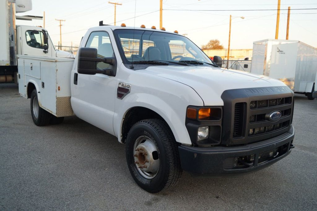 2008 Ford Super Duty F-350 DRW Cab-Chassis 2008 FORD F350 SUPER DUTY 6.4L DIESEL TOOLBOX 1-OWN 615-678-7444 - 18156711 - 3