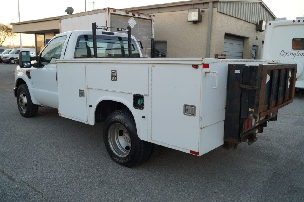 2008 Ford Super Duty F-350 DRW Cab-Chassis 2008 FORD F350 SUPER DUTY 6.4L DIESEL TOOLBOX 1-OWN 615-678-7444 - 18156711 - 4