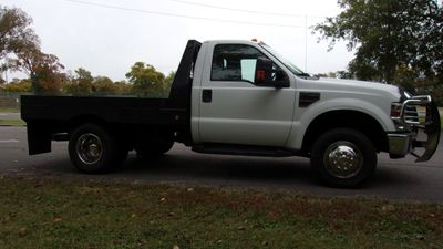 2008 Ford Super Duty F-350 DRW Cab-Chassis 4WD REG CAB XLT FLATBED - Click to see full-size photo viewer