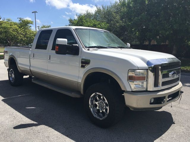 """2008 Ford Super Duty F-350 SRW 4WD Crew Cab 156"""" King Ranch - Click to see full-size photo viewer"""