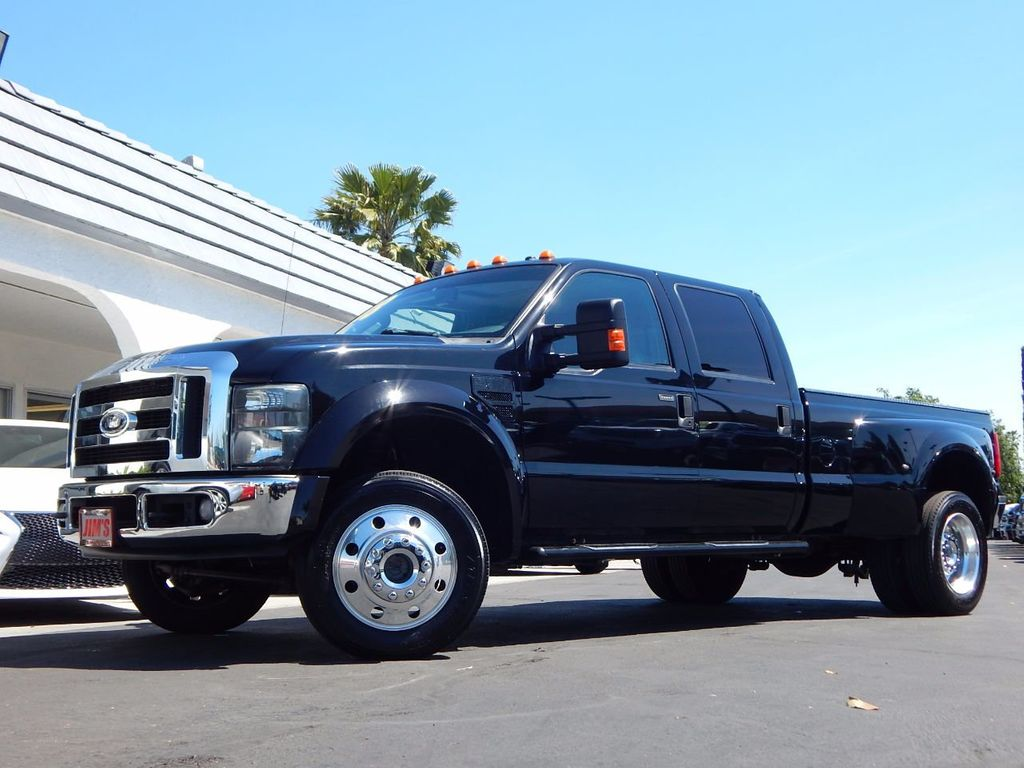 2008 used ford super duty f 450 drw 4wd crew cab 172 lariat at jim 39 s auto sales serving harbor. Black Bedroom Furniture Sets. Home Design Ideas