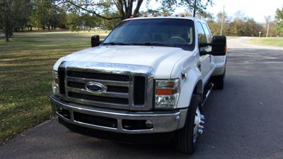 "2008 Ford Super Duty F-450 DRW 4WD Crew Cab 172"" Lariat - Click to see full-size photo viewer"