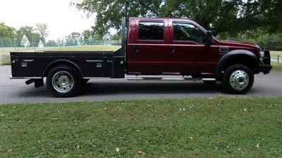 "2008 Ford Super Duty F-450 DRW Cab-Chassis 4WD Crew Cab 176"" WB 60"" CA XL - Click to see full-size photo viewer"