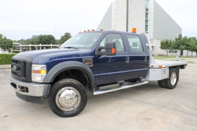 "2008 Ford Super Duty F-550 DRW 4WD Crew Cab 200"" WB 84"" CA XL"