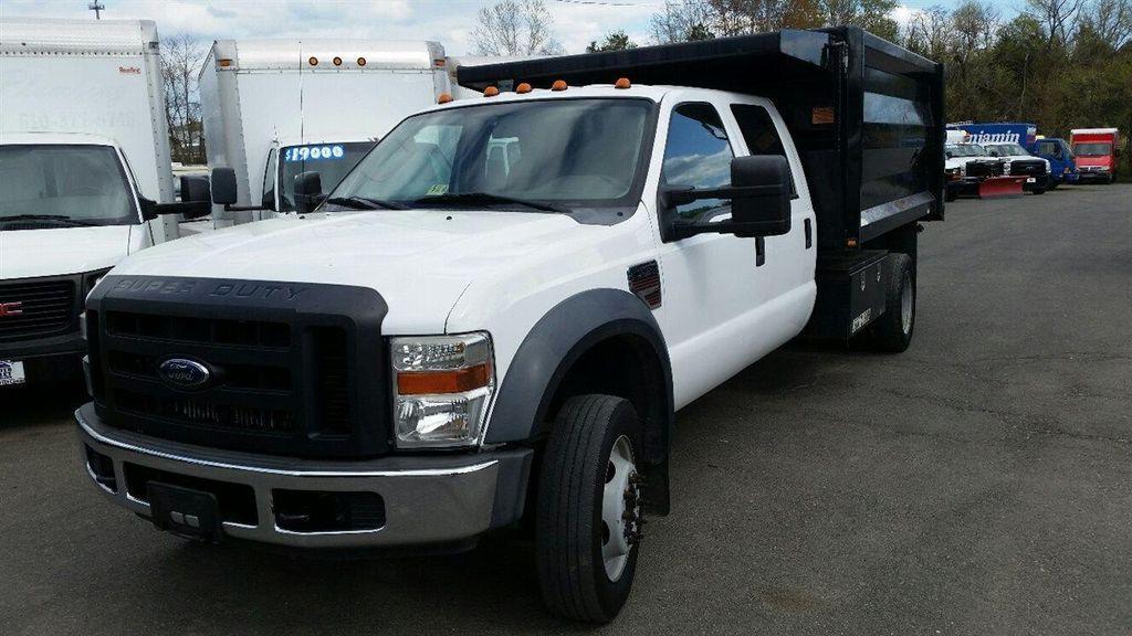 Diesel Trucks For Sale In Va >> 2008 Used Ford Super Duty F-550 DRW CREW CAB * 112K MILES * 6.4L DIESEL * 12' LANDSCAPE DUMP at ...