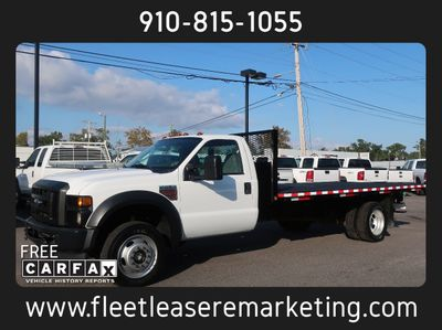 2008 Ford Super Duty F-550 DRW Flatbed