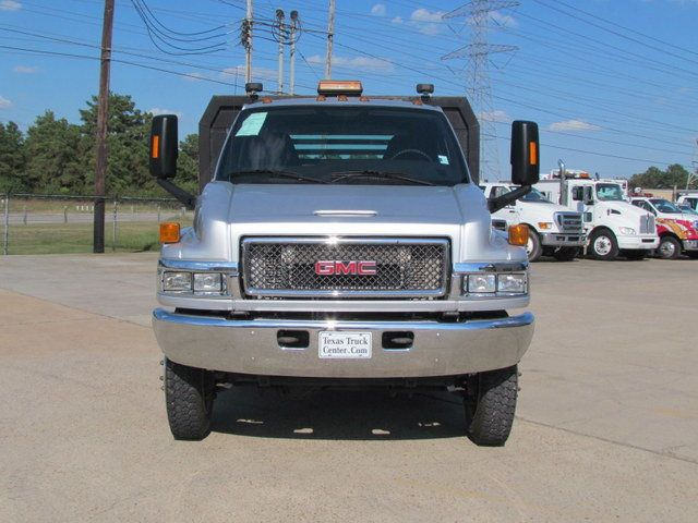 2008 Used Gmc C5500 Flatbed 4x4 At Texas Truck Center Serving