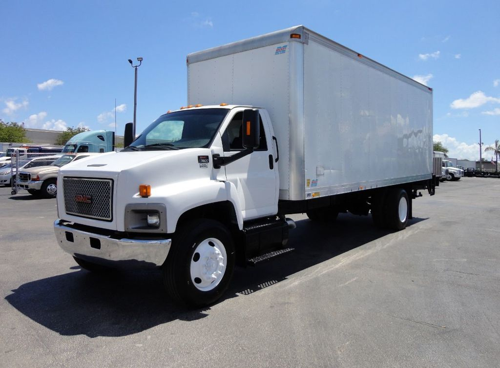 2008 GMC C7500 25,950LB GVWR UNDER CDL..24FT X 96 X 102 BOX.LIFTGATE - 17514624 - 0