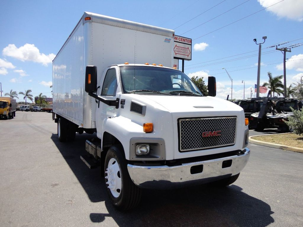 2008 GMC C7500 25,950LB GVWR UNDER CDL..24FT X 96 X 102 BOX.LIFTGATE - 17514624 - 9