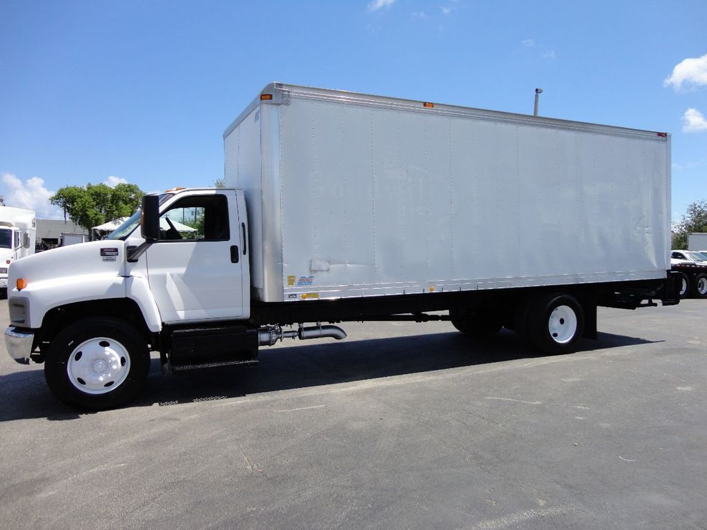 2008 GMC C7500 25,950LB GVWR UNDER CDL..24FT X 96 X 102 BOX.LIFTGATE - 17514624 - 1