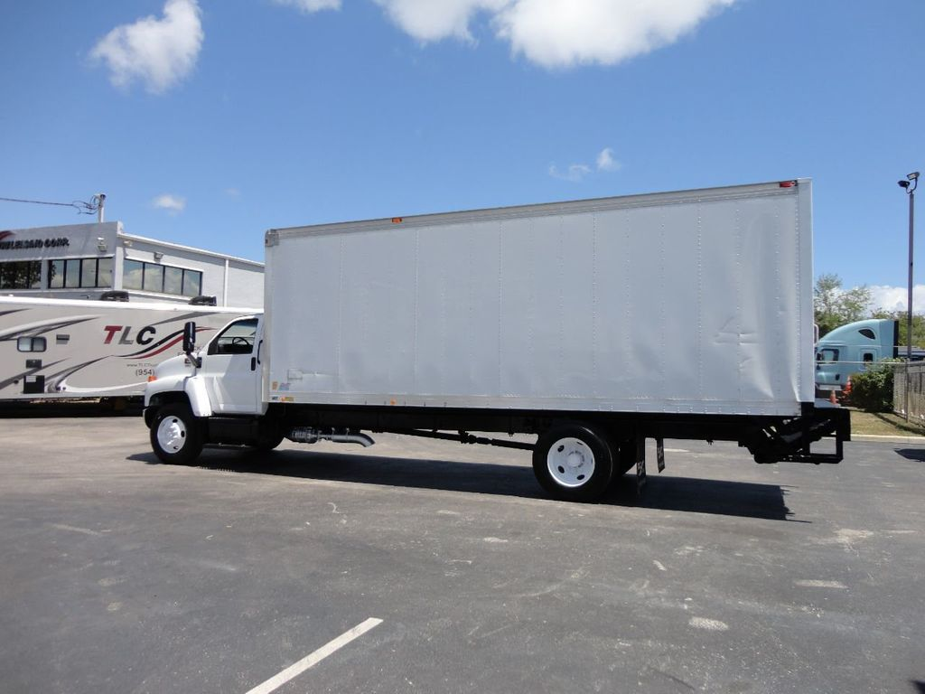 2008 GMC C7500 25,950LB GVWR UNDER CDL..24FT X 96 X 102 BOX.LIFTGATE - 17514624 - 2