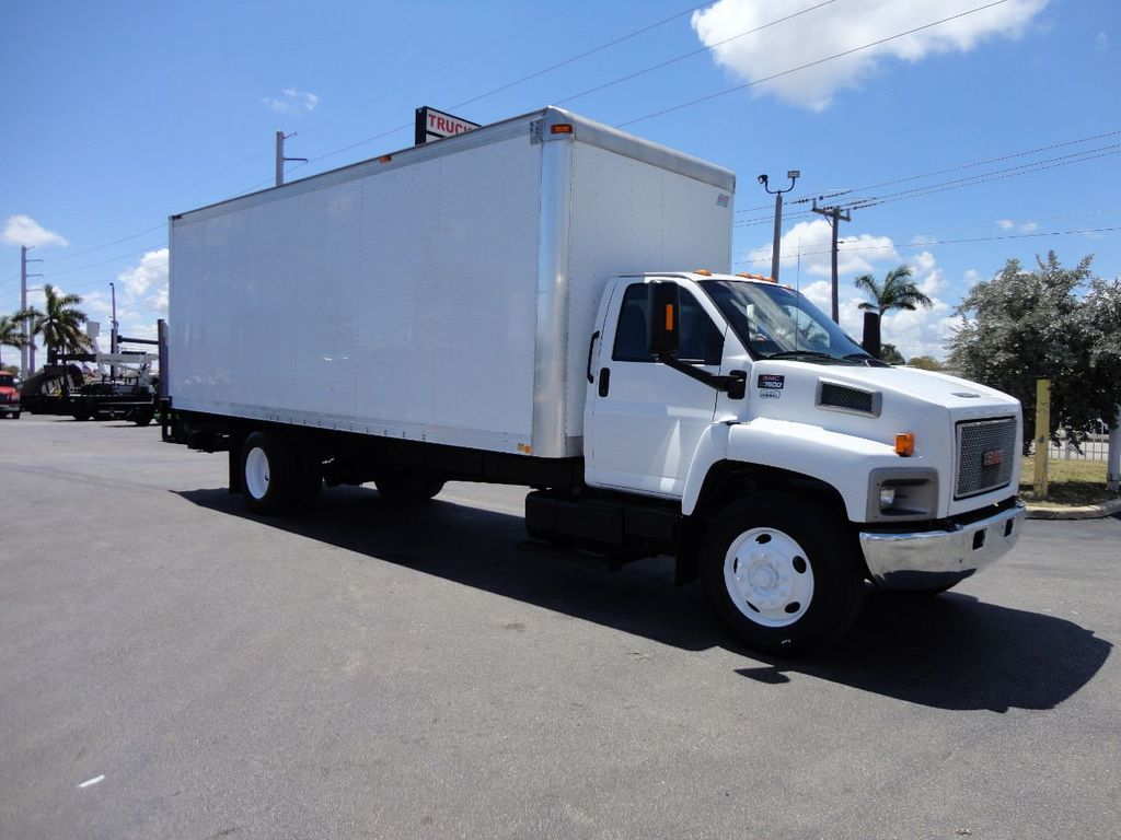 2008 GMC C7500 25,950LB GVWR UNDER CDL..24FT X 96 X 102 BOX.LIFTGATE - 17514624 - 8