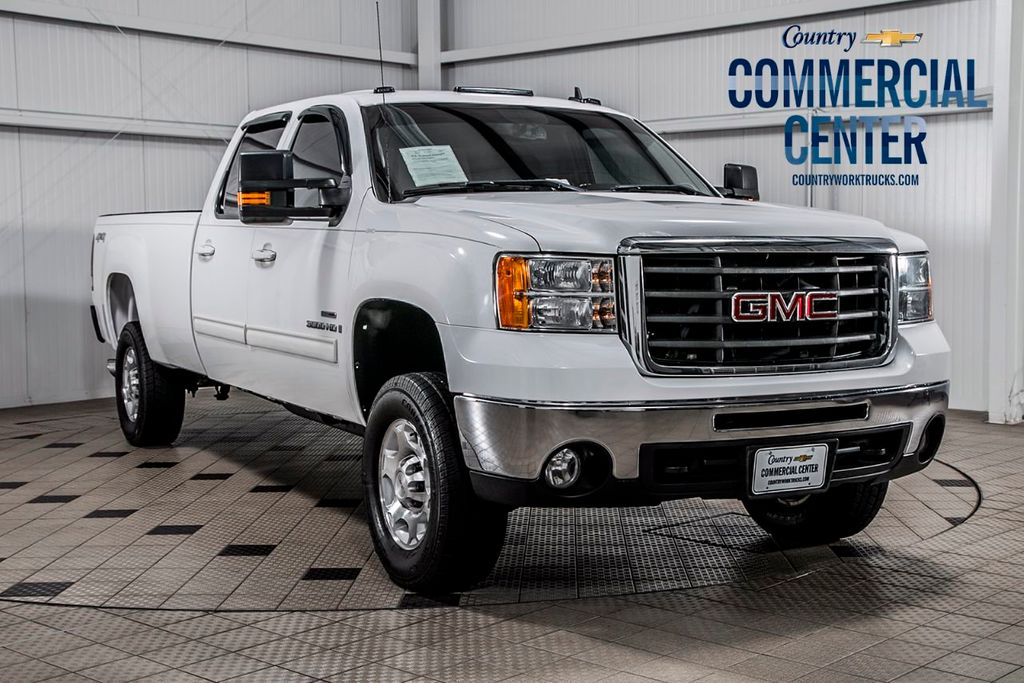 2008 GMC Sierra 3500HD 3500HD CREW 4X4 * 6.6 DURAMAX * ALLISON * SHARP - 16811366 - 0