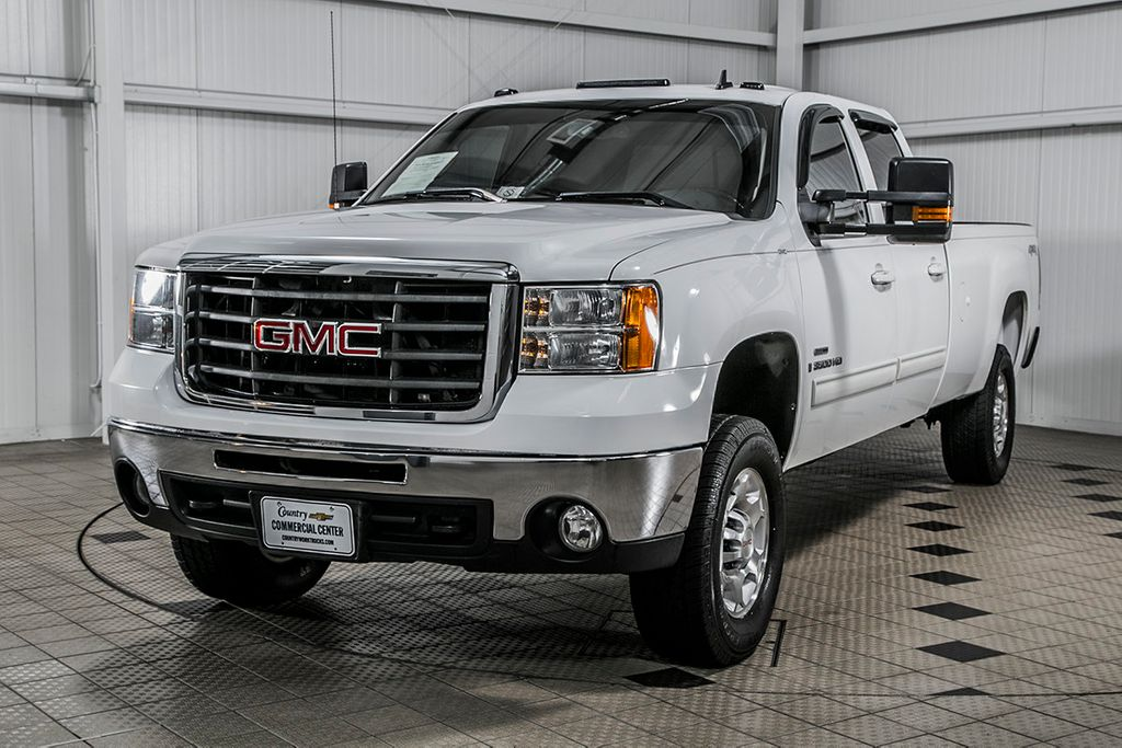 2008 GMC Sierra 3500HD 3500HD CREW 4X4 * 6.6 DURAMAX * ALLISON * SHARP - 16811366 - 2