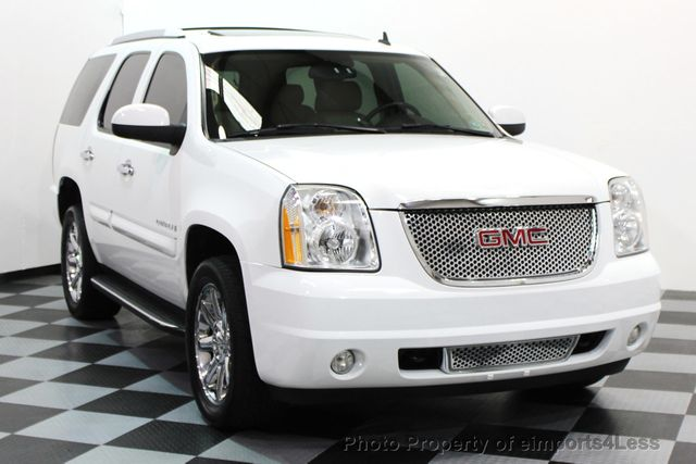 2008 used gmc yukon denali certified denali awd 6 passenger suv camera navi at eimports4less. Black Bedroom Furniture Sets. Home Design Ideas