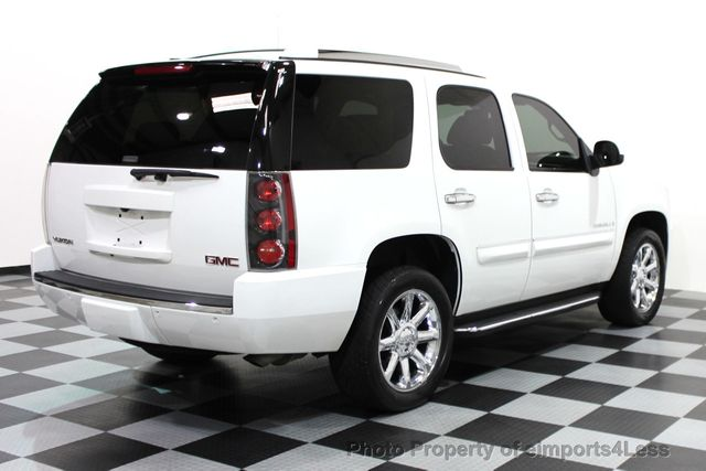 3rd Row Suv For Sale >> 2008 Used GMC Yukon Denali CERTIFIED DENALI AWD 6 PASSENGER SUV CAMERA / NAVI at eimports4Less ...