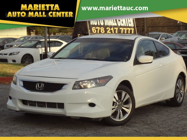 Honda Accord Coupe 2008 >> 2008 Used Honda Accord Coupe 2dr I4 Automatic Ex L At