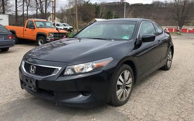 2008 Honda Accord Coupe 2dr I4 Manual EX-L