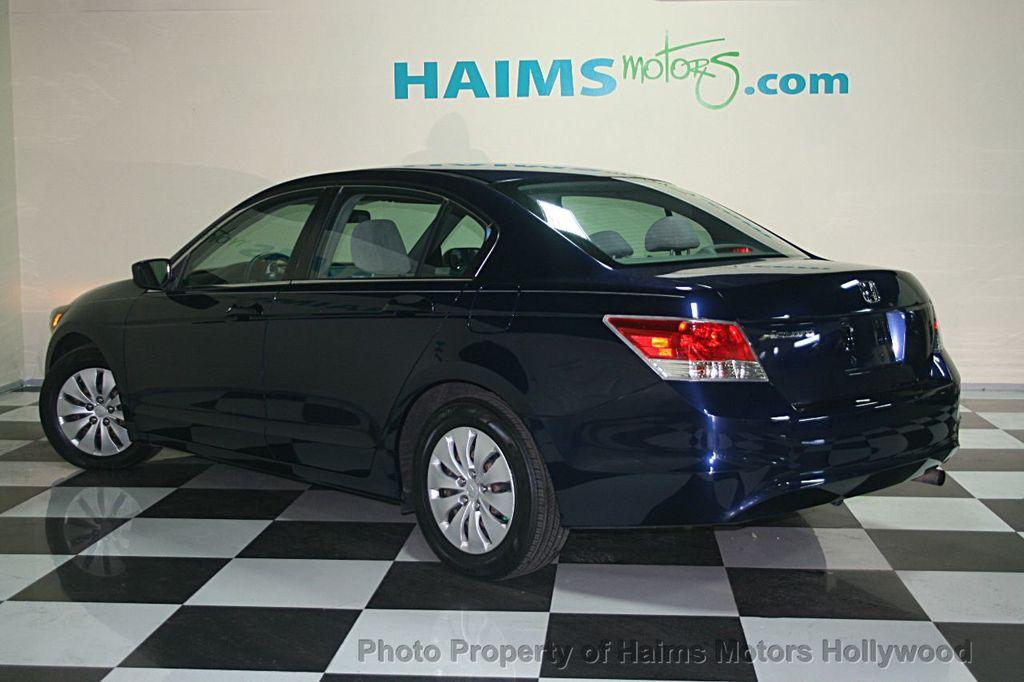 Honda Dealer Miami >> 2008 Used Honda Accord Sedan 4dr I4 Automatic LX at Haims Motors Serving Fort Lauderdale ...