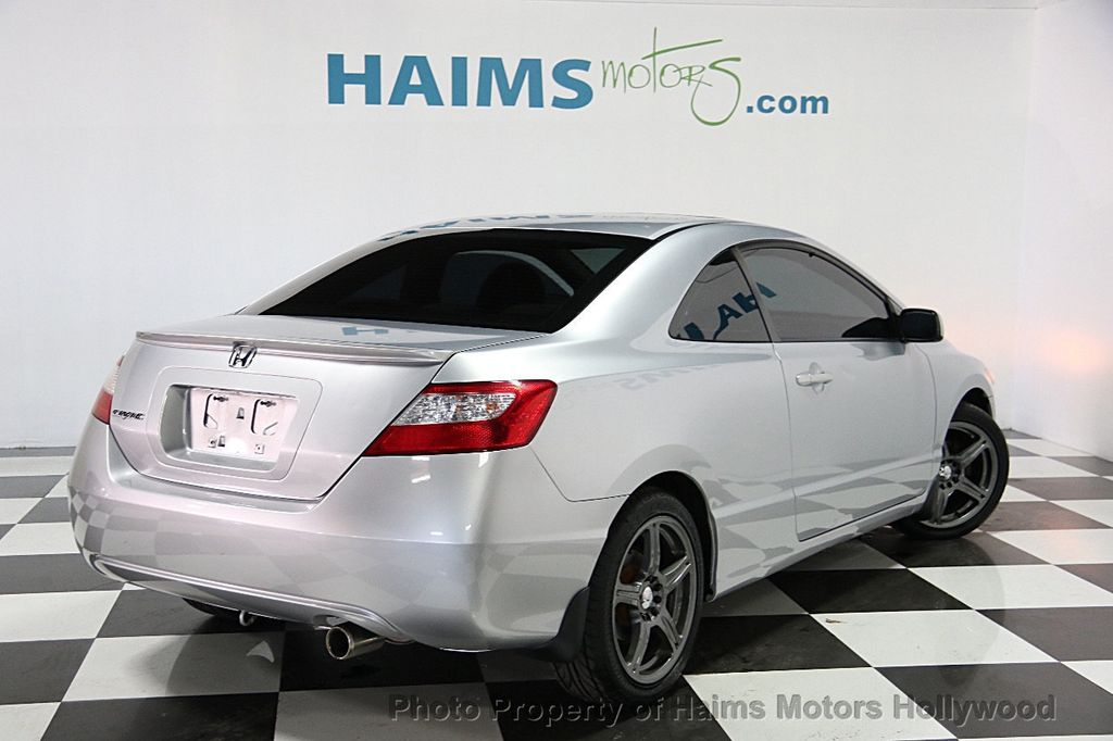 2008 used honda civic coupe 2dr automatic ex at haims motors serving fort lauderdale hollywood. Black Bedroom Furniture Sets. Home Design Ideas