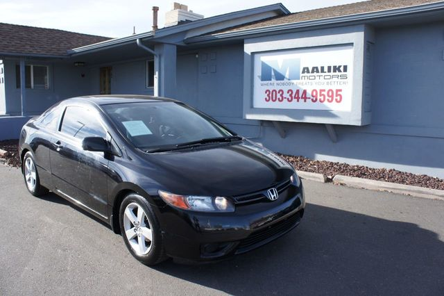 2008 Used Honda Civic Coupe 2dr Automatic Ex At Maaliki Motors Serving Aurora Denver Co Iid 18406691
