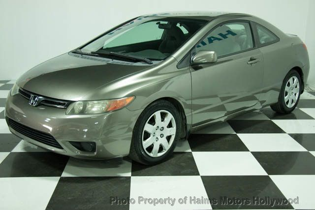 2008 Honda Civic Coupe 2dr Automatic LX   14837411