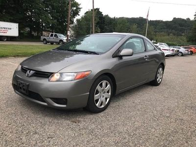 2008 Honda Civic Coupe 2dr Manual LX