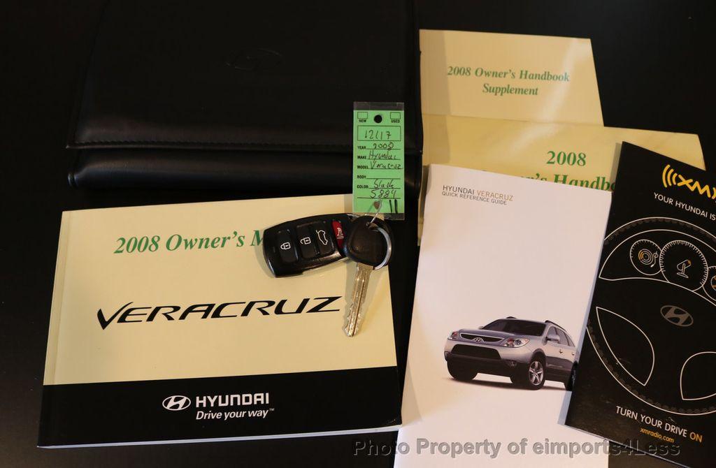 2008 Hyundai Veracruz CERTIFIED VERACRUZ AWD 7 PASSENGER - 17581584 - 42