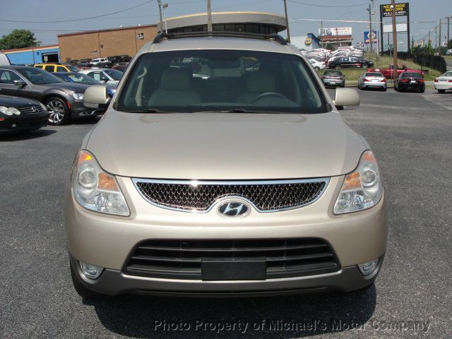 2008 Hyundai Veracruz LIMITED, NAVIGATION, LEATHER, HEATED SEATS, SUNROOF - 15137677 - 10