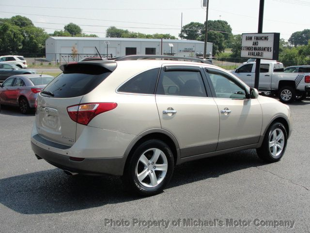 2008 Hyundai Veracruz LIMITED, NAVIGATION, LEATHER, HEATED SEATS, SUNROOF - 15137677 - 3