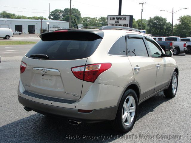 2008 Hyundai Veracruz LIMITED, NAVIGATION, LEATHER, HEATED SEATS, SUNROOF - 15137677 - 4