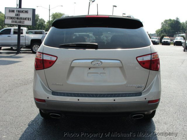 2008 Hyundai Veracruz LIMITED, NAVIGATION, LEATHER, HEATED SEATS, SUNROOF - 15137677 - 5