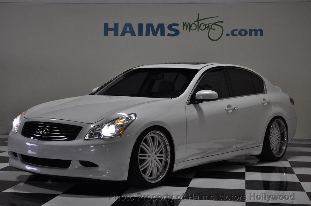 2008 used infiniti g35 sedan 4dr sport rwd at haims motors. Black Bedroom Furniture Sets. Home Design Ideas