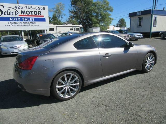 2008 Infiniti G37 Coupe Sport 2dr Coupe Coupe For Sale Lynnwood Wa