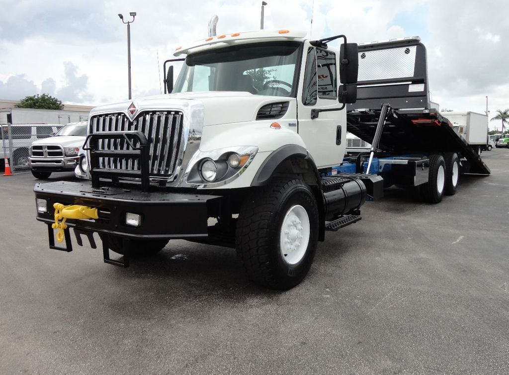 2008 International 7500 *NEW* 28FT 15 TON ROLLBACK INDUSTRIAL JERRDAN. - 17788200 - 0