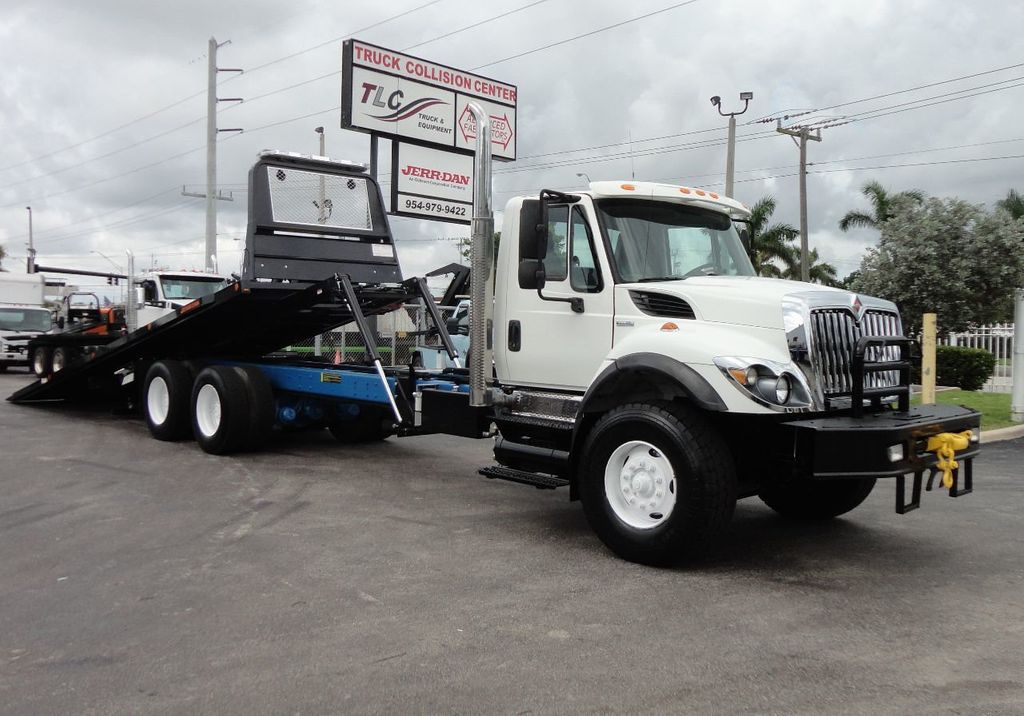 2008 International 7500 *NEW* 28FT 15 TON ROLLBACK INDUSTRIAL JERRDAN. - 17788200 - 1